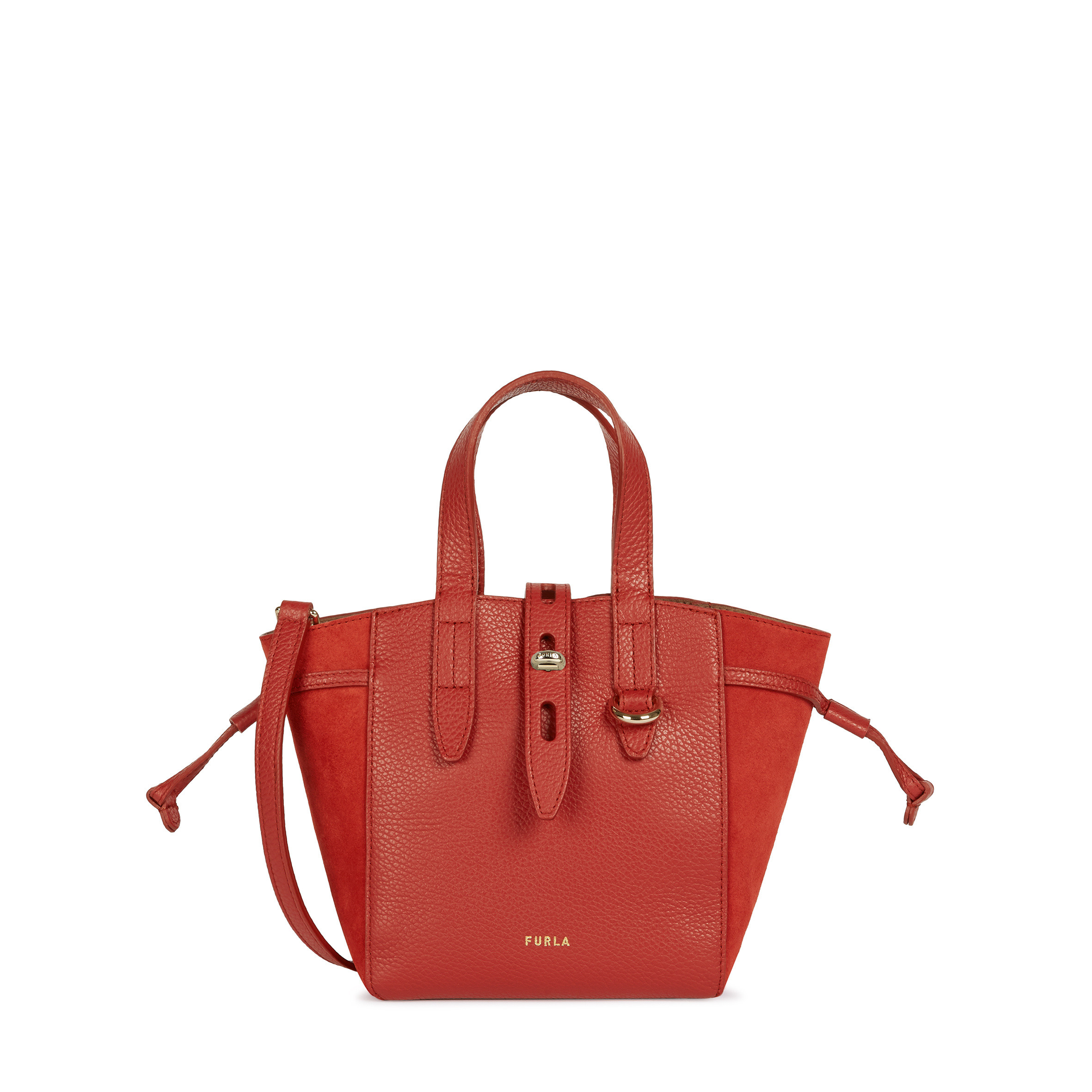 Furla Net Sac Cabas Red