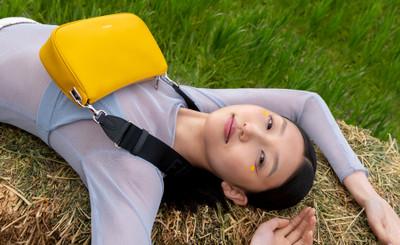 FURLA MOON Shoulder Bag S Polline