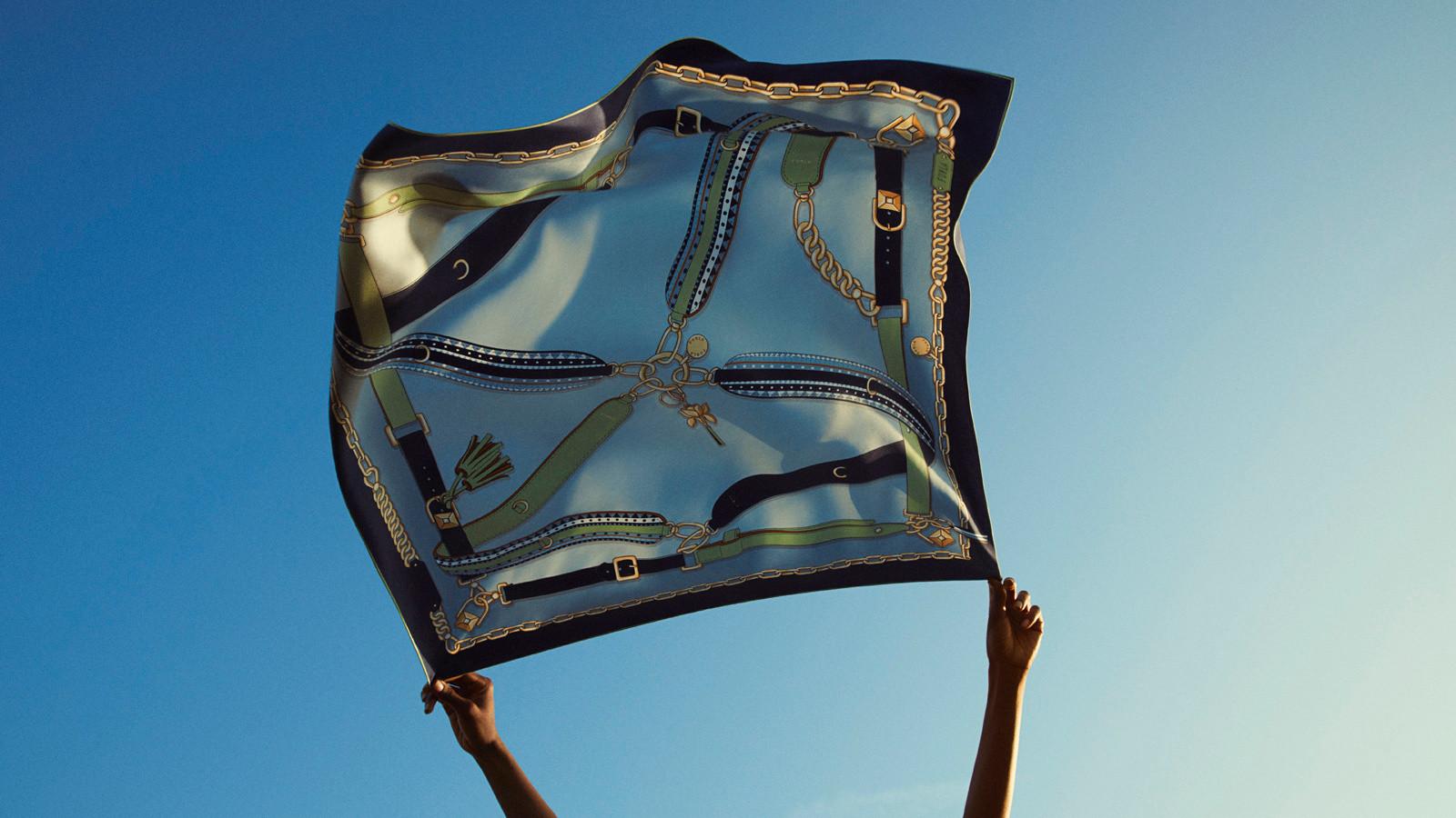 Bandeau e lenços