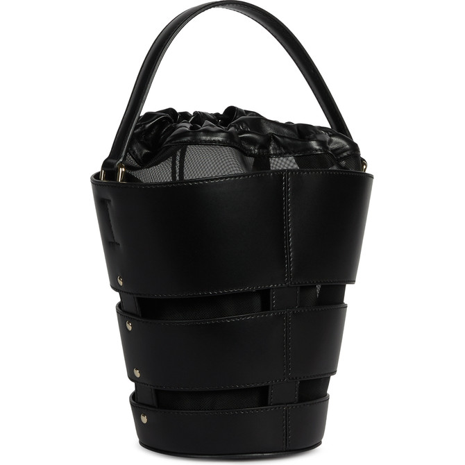 MINI BUCKET BAG NERO FURLA RIBBON