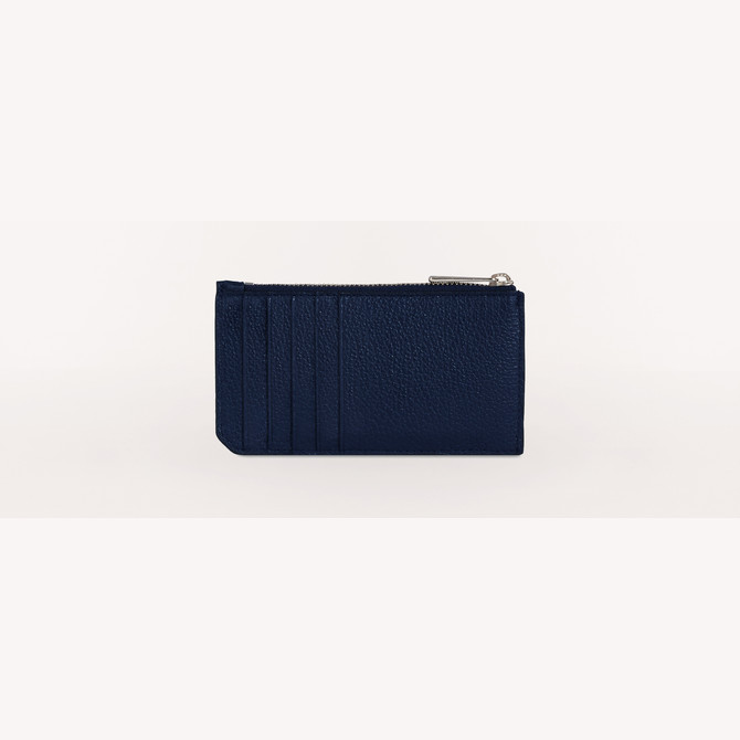 CREDIT CARD CASE BLU d FURLA MAN MERCURIO