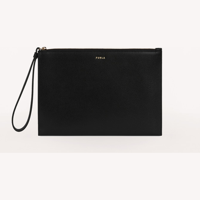 ENVELOPE NERO FURLA BABYLON