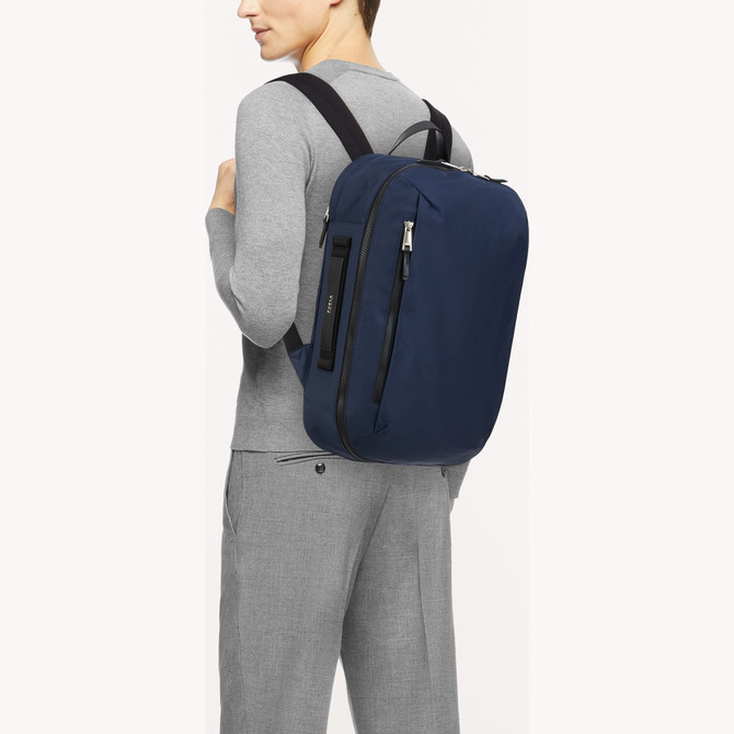 BACKPACK BLU d FURLA MAN TECHNICAL