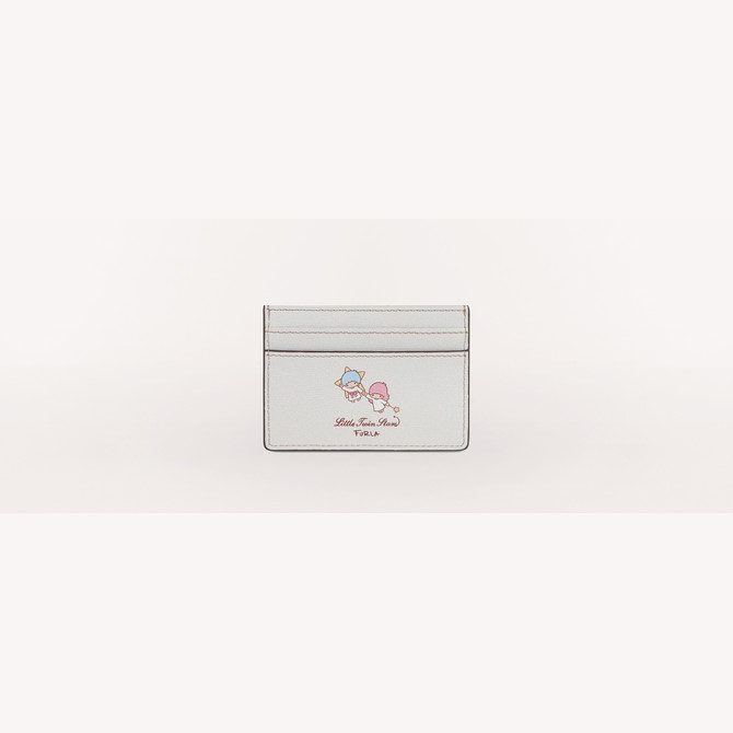 CREDIT CARD CASE TONI AZZURRO FURLA KITTY