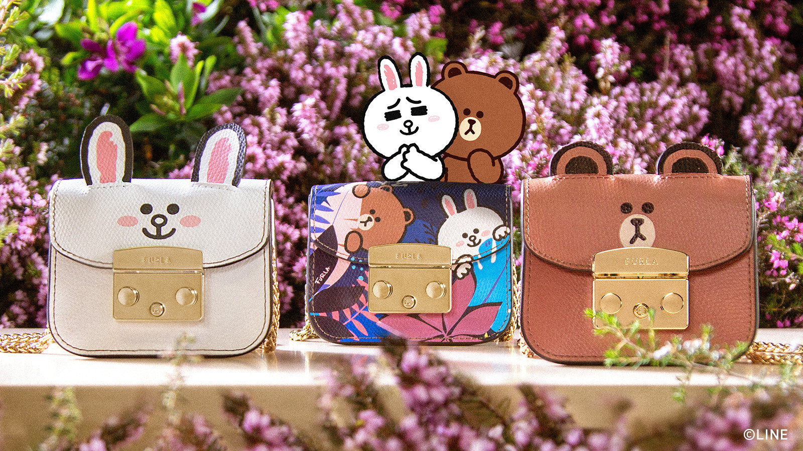FURLA LINE FRIENDS CAPSULE COLLECTION