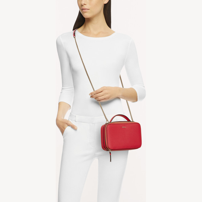 CROSSBODY M FRAGOLA h FURLA BABYLON