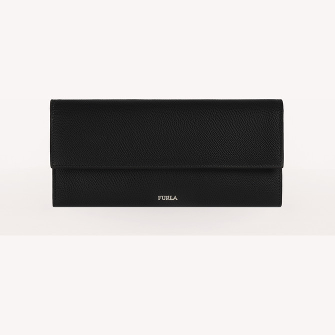 TRAVEL WALLET NERO FURLA MAN MARTE