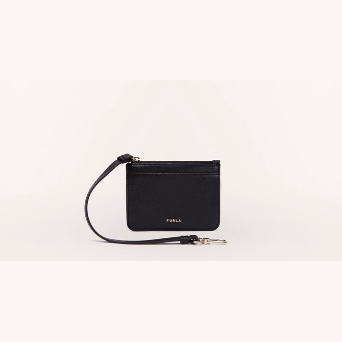 CREDIT CARD CASE NERO FURLA BABYLON