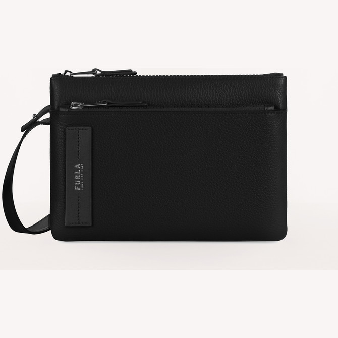 POUCH NERO FURLA MAN TECHNICAL