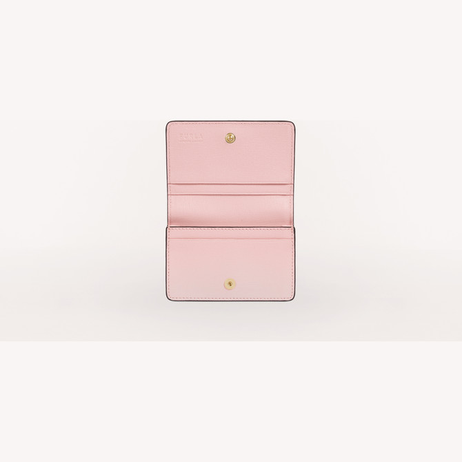 BUSINESS CARD CASE ROSA CHIARO h FURLA BABYLON