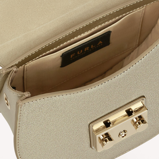MINI CROSSBODY COLOR ORO LIGHT FURLA METROPOLIS