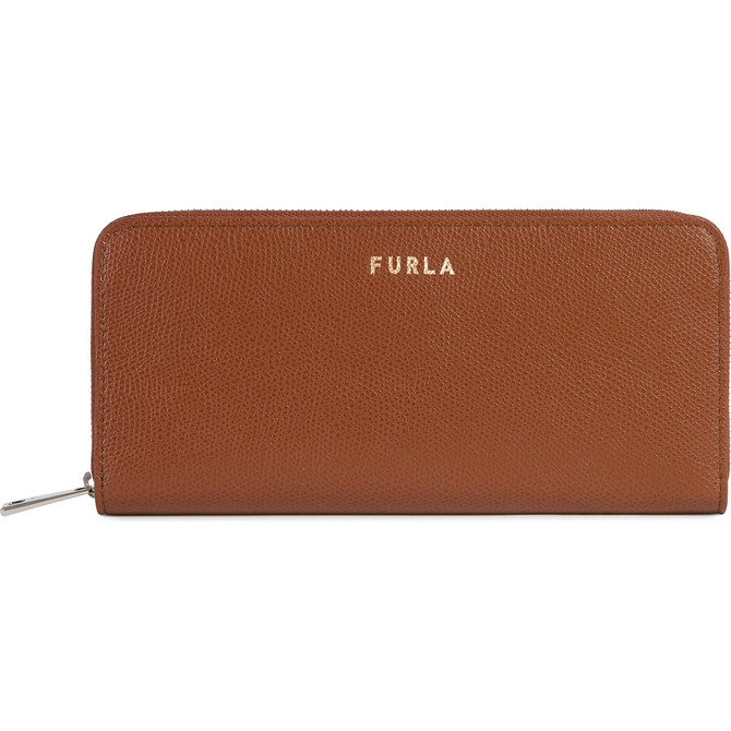 ZIP AROUND COGNAC h FURLA NEXT