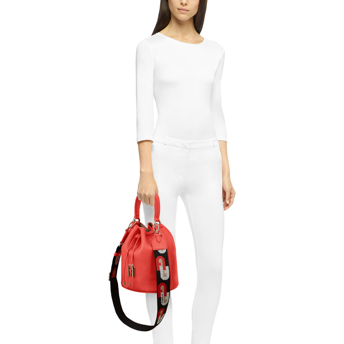 BUCKET BAG S FUOCO h FURLA SLEEK