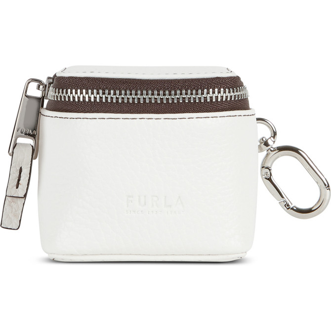 EARPHONES HOLDER CHALK FURLA MAN MERCURIO