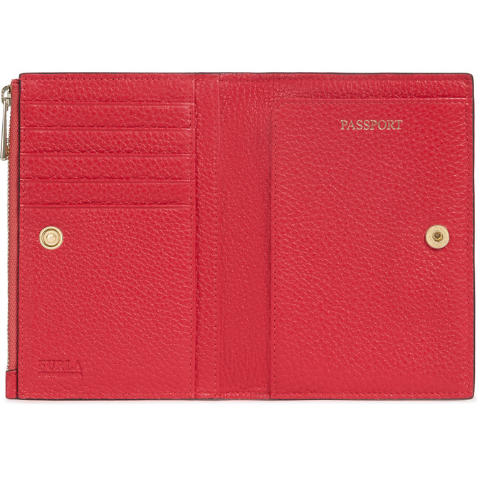 PASSPORT HOLDER FRAGOLA h FURLA LINDA