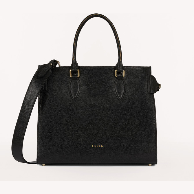 TOTE-BAG L NERO FURLA ZONE