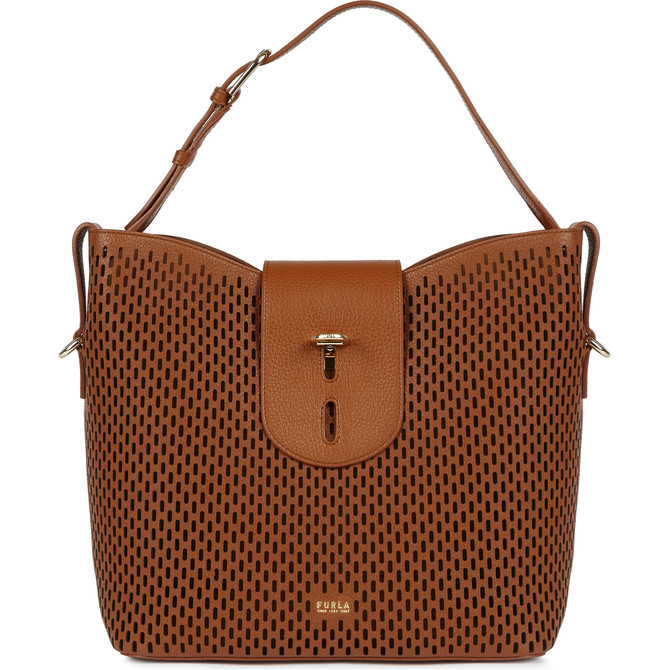 HOBO-BAG M COGNAC h FURLA NET