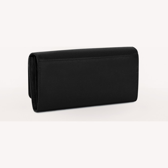 CONTINENTAL WALLET  NERO FURLA BABYLON