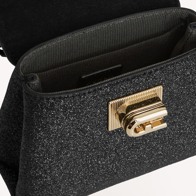 MICRO TOP HANDLE NERO FURLA 1927