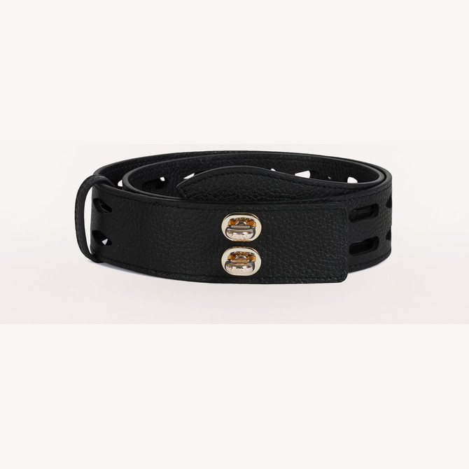 BELT NERO FURLA NET