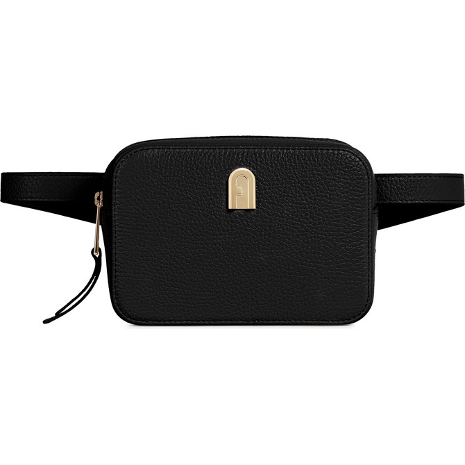 MINI SAC BANANE NERO FURLA SLEEK