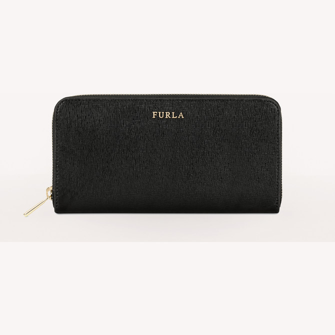 ZIP AROUND ONYX FURLA BABYLON