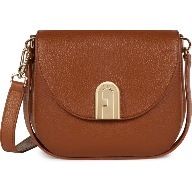 MINI CROSSBODY COGNAC h FURLA SLEEK