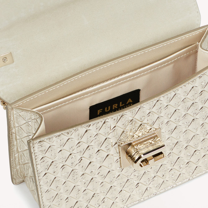 MINI CROSSBODY COLOR PLATINO FURLA 1927