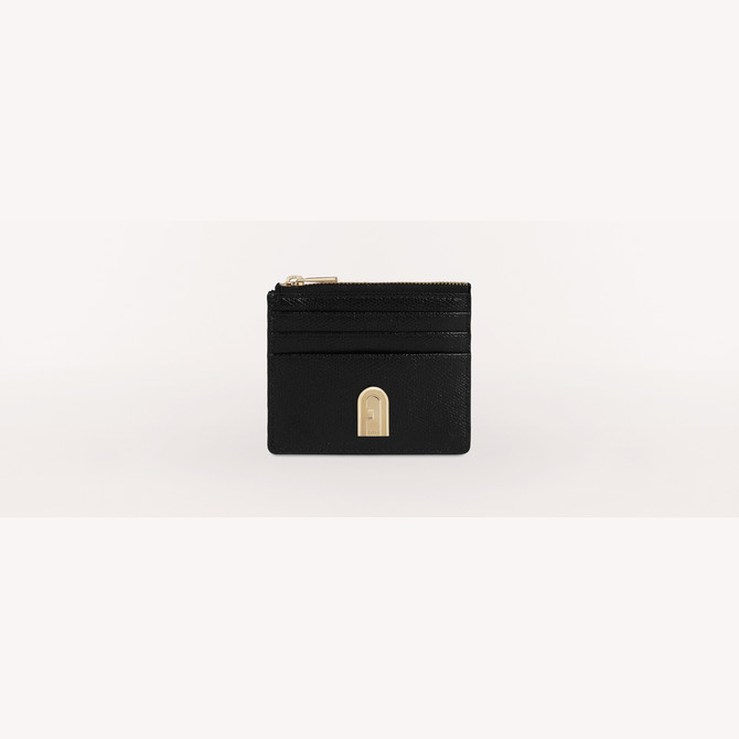 CREDIT CARD CASE NERO FURLA 1927