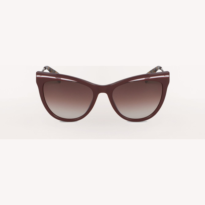 SUNGLASSES BURGUNDY FURLA ZONE