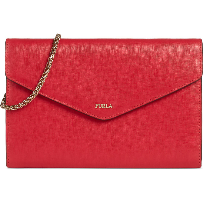 CHAIN WALLET FRAGOLA h FURLA BABYLON