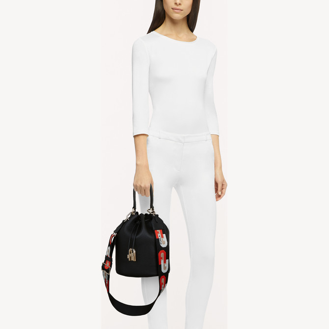 BUCKET BAG S NERO FURLA SLEEK