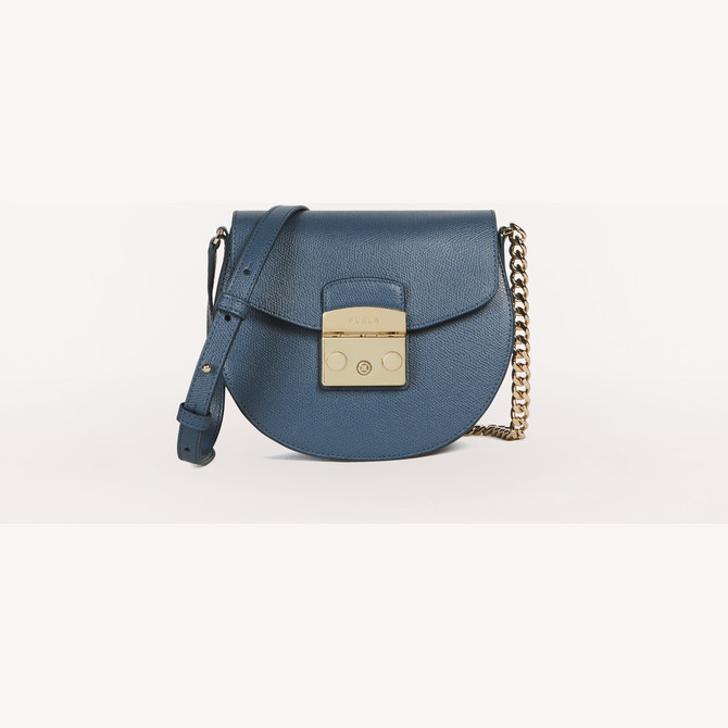 MINI CROSSBODY BLU DENIM FURLA METROPOLIS