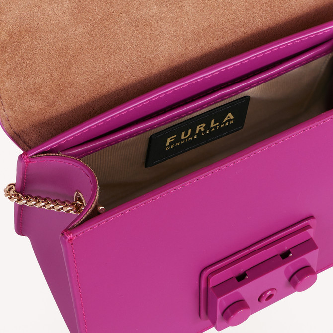 MINI CROSSBODY FLAMINGO PURPLE i FURLA METROPOLIS