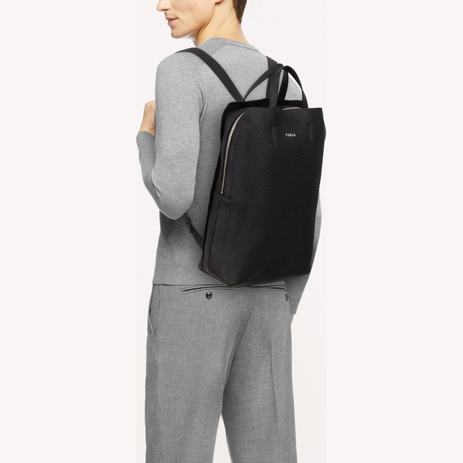 BACKPACK NERO FURLA ESSENTIAL