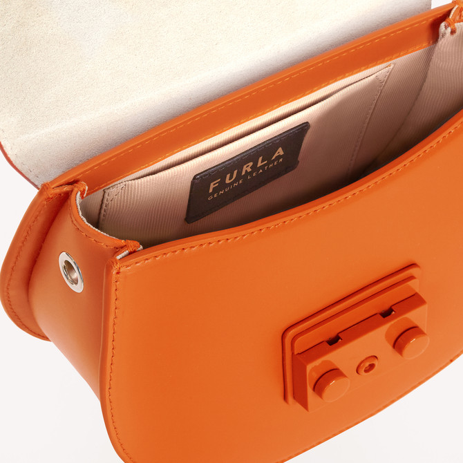 MINI SAC À BANDOULIÈRE ORANGE i FURLA METROPOLIS