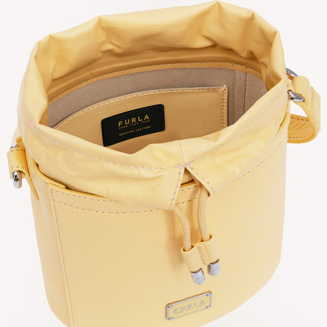 MINI BUCKET BAG CREMA h FURLA SET