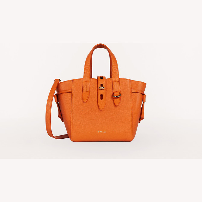 MINI TOTE ORANGE i FURLA NET