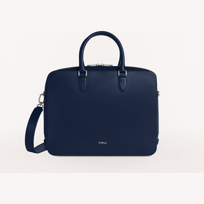 BRIEFCASE BLU d FURLA MAN PROJECT