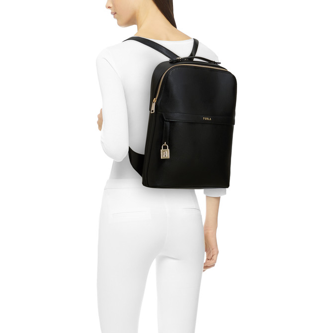 BACKPACK M NERO FURLA PIPER