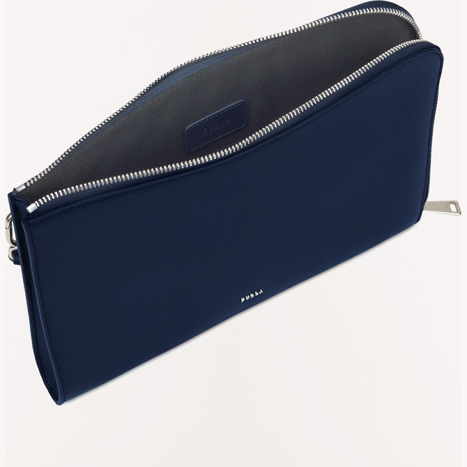 POUCH BLU d FURLA MAN PROJECT