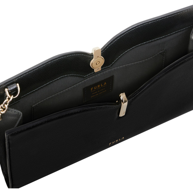 CROSSBODY S NERO FURLA RIBBON