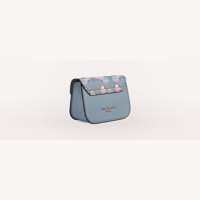 COSMETIC CASE TONI AZZURRO FURLA KITTY
