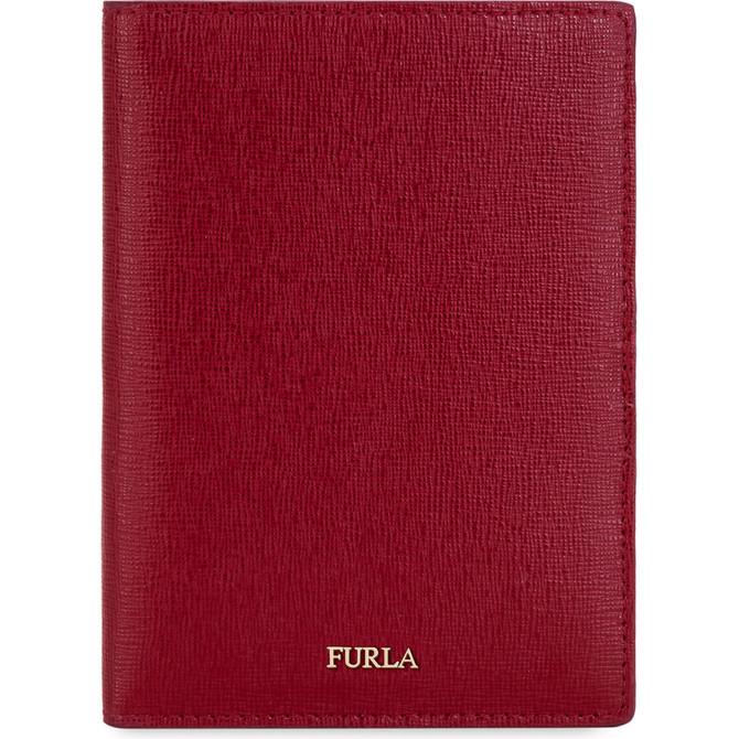 PASSPORT HOLDER CILIEGIA d FURLA LINDA