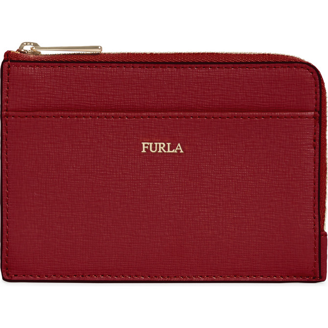CREDIT CARD CASE CILIEGIA d FURLA BABYLON