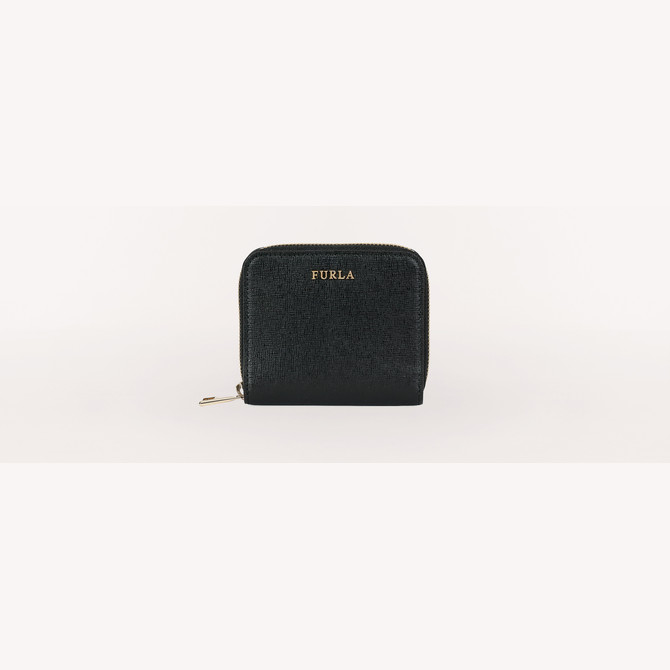 ZIP AROUND NERO FURLA BABYLON