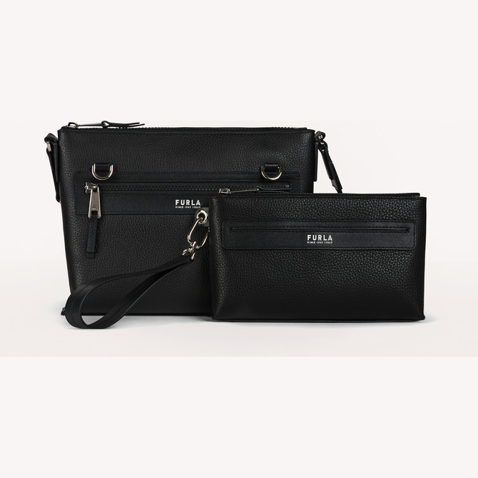 SAC À BANDOULIÈRE M NERO FURLA MAN TECHNICAL