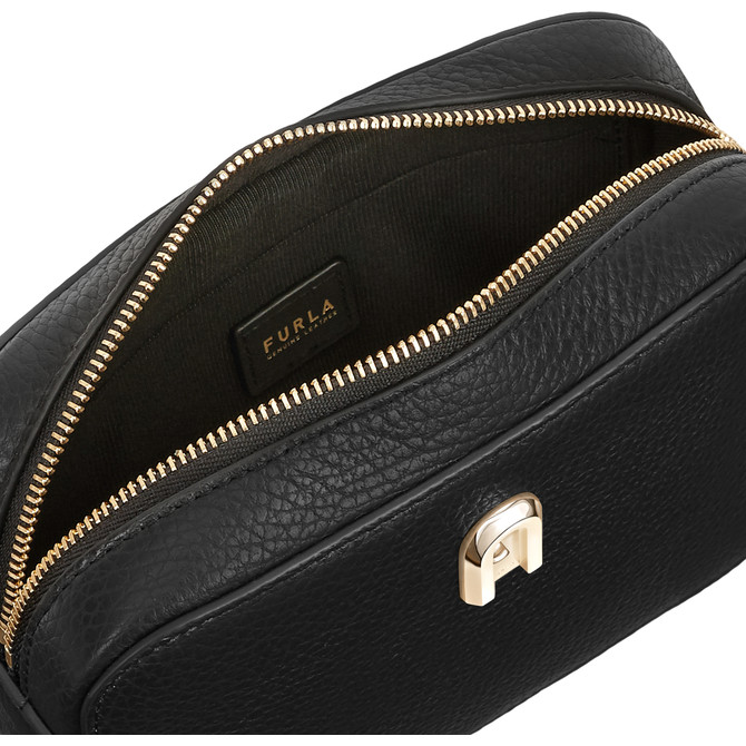 MINI BELT BAG NERO FURLA SLEEK