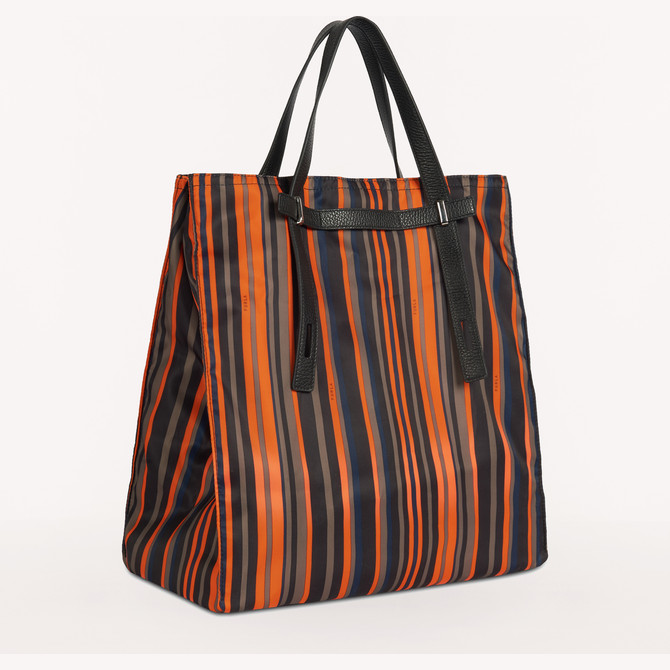 TOTE-BAG TONI ORANGE FURLA MAN GIOVE