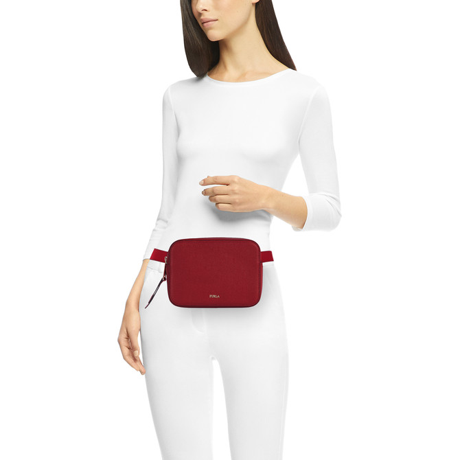 BELT BAG CILIEGIA d FURLA BABYLON
